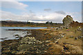 NR4346 : Loch an t-Sàilein Shore by Mary and Angus Hogg