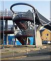 TQ2992 : Access, Bounds Green Bridge by Julian Osley