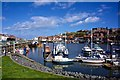 NZ9010 : Whitby Harbour by Paul Buckingham