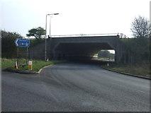 SP5772 : Motorway bridge by JThomas