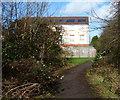 SP5798 : Path to Queens Park Way in Glen Parva by Mat Fascione