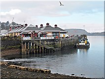NM8529 : Quay at Oban Ferry Terminal by David Dixon