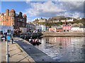 NM8530 : Oban Harbour from North Pier by David Dixon