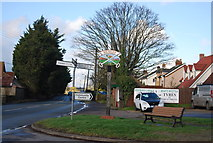 TM1551 : Village sign, Henley by N Chadwick