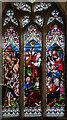 TQ8833 : Stained glass window, St Mildred's church, Tenterden by Julian P Guffogg