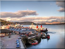 NM8529 : Caledonian MacBrayne Ferry Terminal at Oban by David Dixon