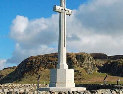 NR2163 : At Kilchoman Military Cemetery by Mary and Angus Hogg