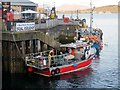 NM8529 : Quayside at Oban Harbour by David Dixon