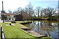 TQ4648 : Village pond at Four Elms by Trevor Harris