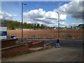 SP3165 : Part of foundry site awaiting redevelopment, by Prince's Drive A452, Leamington by Robin Stott