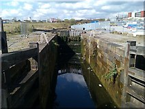 SJ8298 : Lock on the Manchester Bolton and Bury Canal by David Martin