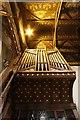 SU4388 : Ceiling & organ by Bill Nicholls