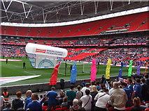 TQ1985 : The Posh at Wembley - Pre match build-up by Richard Humphrey