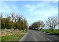 TL2863 : A1198 Ermine Street, Papworth Everard by Adrian Cable