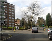 SP0882 : Moseley Birmingham Wake Green Road Crossing Yardley Wood Road by Roy Hughes