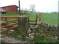 SE0420 : Stile at Cow Lane end of Ripponden FP56 by Humphrey Bolton