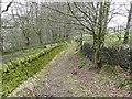 SE0420 : Birls Lane, Ripponden FP59 by Humphrey Bolton