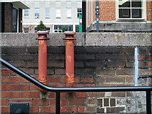 J3372 : Ventilation pipes, Belfast by Rossographer