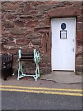 NO8785 : Entrance to the Old Tollhouse museum, Stonehaven by Stanley Howe