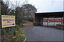 SS9902 : Hele : Devon Valley Mill by Lewis Clarke