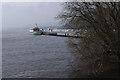 NY4624 : Pooley Bridge Pier by Ian Taylor