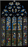 TQ9220 : West window, St Mary the Virgin Church, Rye by Julian P Guffogg
