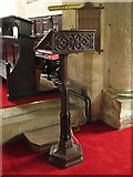 NY9371 : St. Giles Church, Chollerton - lectern by Mike Quinn