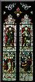TQ9220 : Stained glass window, St Mary the Virgin, Rye by Julian P Guffogg