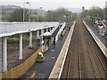 NT1184 : Looking east from Rosyth Station by M J Richardson