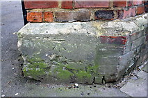 SP5206 : Benchmark beside entrance to #80 St Clement's Street by Roger Templeman