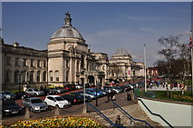 ST1876 : Cardiff : City Hall by Lewis Clarke