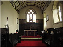 NY9371 : St. Giles Church, Chollerton - chancel by Mike Quinn