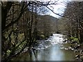 SO1603 : River Sirhowy, Hollybush by Robin Drayton
