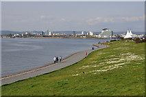 ST1972 : Cardiff : Cardiff Bay & Coast Path by Lewis Clarke