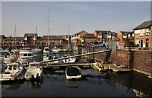 ST1872 : Penarth : Penarth Marina by Lewis Clarke