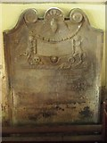 NY9371 : St. Giles Church, Chollerton - 18th C grave slab by Mike Quinn