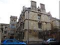 SP5105 : Pembroke College / Beef Lane, Oxford by Stephen Craven