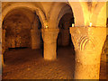 SP5006 : Crypt of Oxford Castle by Stephen Craven