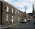 SN7204 : One-way section of Church Street, Pontardawe by Jaggery