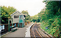 SH6706 : Abergynolwyn station, 1999 by Ben Brooksbank