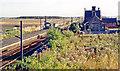 NU2201 : Acklington station, 1991 by Ben Brooksbank