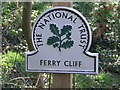 TM2848 : National Trust Sign by Keith Evans