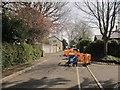ST5574 : Roadworks, Sneyd Park by Derek Harper