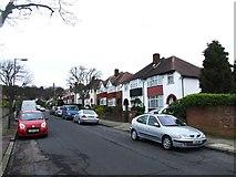 TQ4375 : Crookston Road, Eltham by Chris Whippet