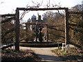 TA1063 : Sculpture Burton Agnes walled garden by Christopher Hall