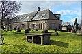 NS4864 : Oakshaw Trinity Church: church halls by Lairich Rig