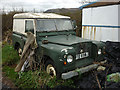 SD5276 : Old Landrover at Ley Pits Farm by Karl and Ali