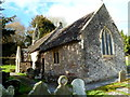ST4492 : St Mary's church viewed from the SE, Llanvair Discoed by Jaggery