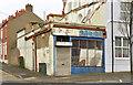 J3076 : Derelict shop, Glenbank, Belfast (April 2014) by Albert Bridge
