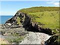 SM8633 : The Cove of Pwllstrodur by Tony Atkin